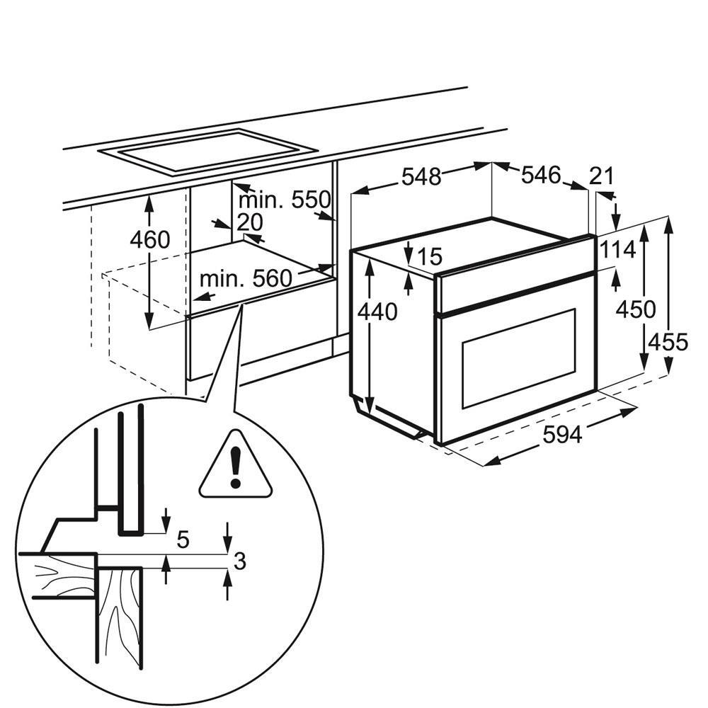 AEG stoomoven (inbouw) KS8404021M