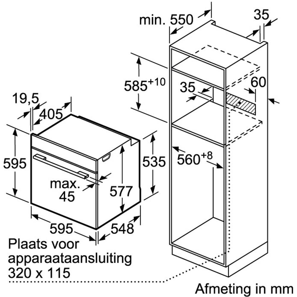 Siemens oven (inbouw) HB633GNS1