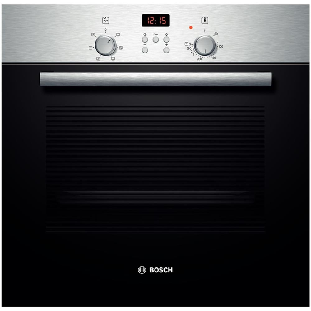how to turn on a bosch oven