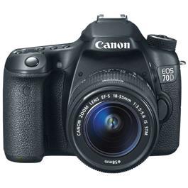 Canon spiegelreflexcamera EOS 70D + 18-55mm lens