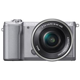 Sony systeemcamera ILCE5000LS Zilver