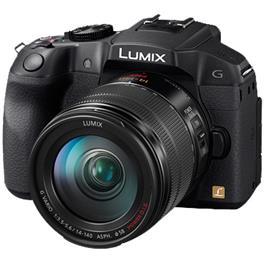 Panasonic systeemcamera Lumix DMC-G6H Zwart