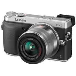 Panasonic Lumix DMC-GX7 + 14-42mm zilver