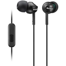 MDR-EX15AP in-ear hoofdtelefoon, Zwart