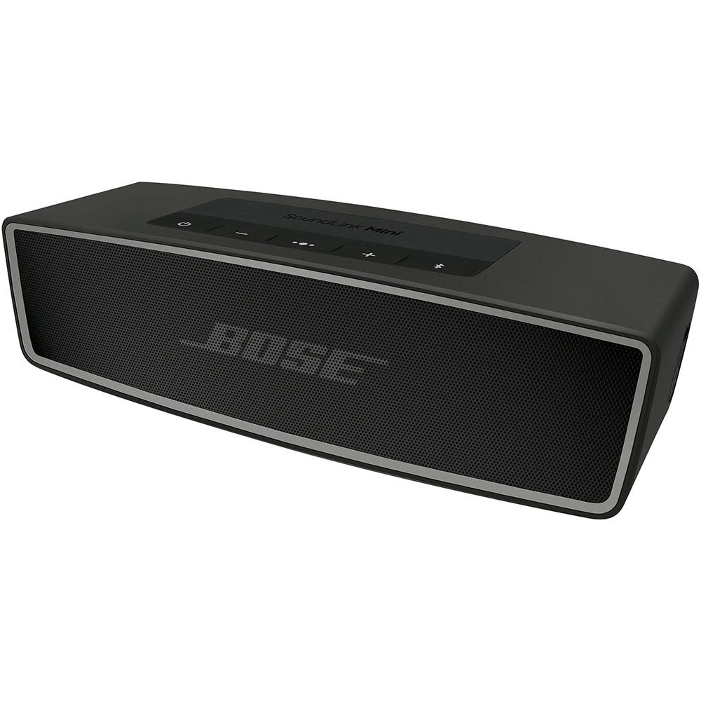 bose bluetooth speaker soundlink mini ii carbon. Black Bedroom Furniture Sets. Home Design Ideas