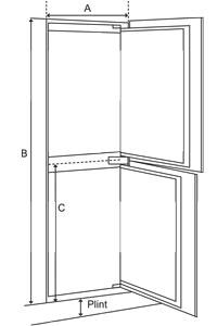 Amerikaanse koelkast inbouw afmetingen